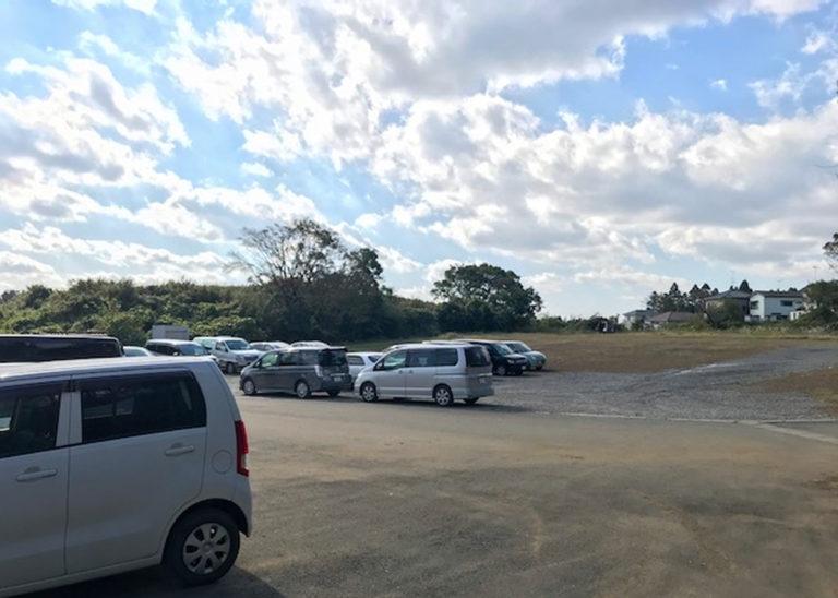 広々とした駐車スペース